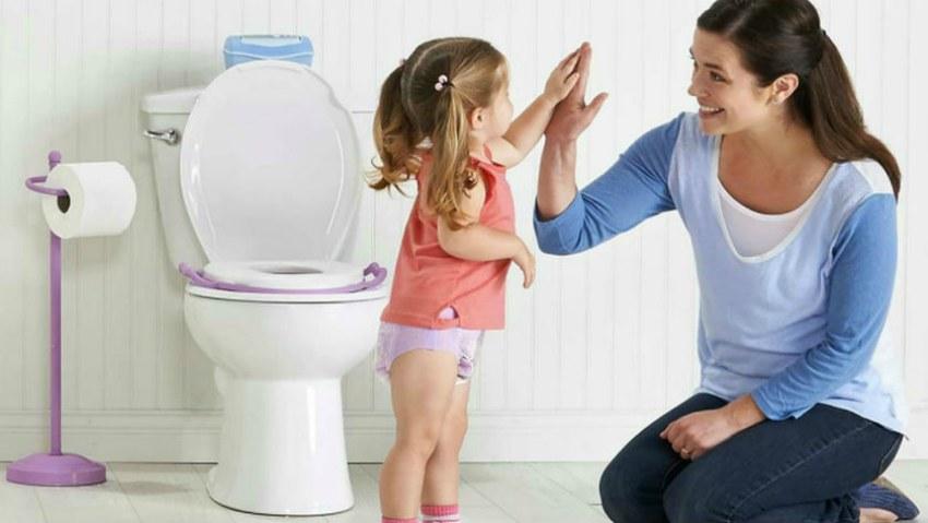 bebeklere tuvalet eğitimi